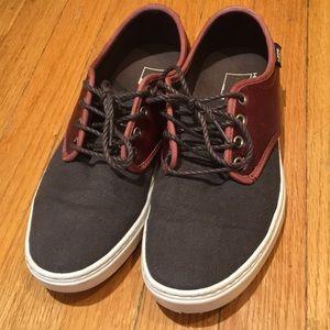 Vans off the wall men's shoes men's size :6.5